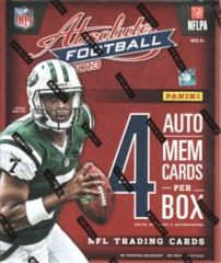 2013 Panini Absolute NFL Football Hobby Box