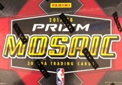 2017-18 Panini Prizm Mosaic NBA Basketball Box