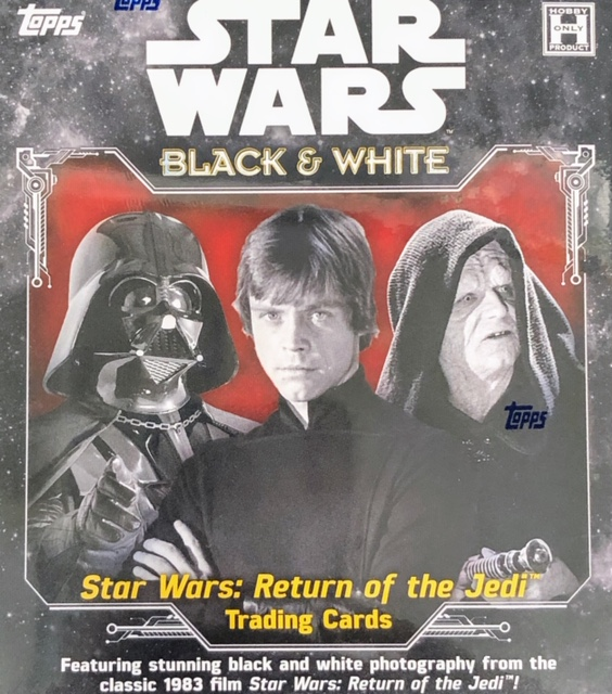 2020 Topps Star Wars: Return of the Jedi Black & White Edition Trading Cards Hobby Box
