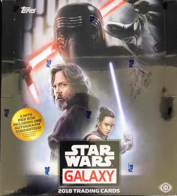 2018 Topps Star Wars Galaxy Hobby Box