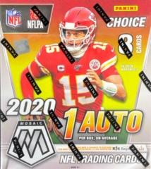 2020 Panini Mosaic NFL Football Choice Box