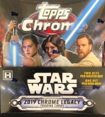 2019 Topps Star Wars Chrome Legacy Hobby Master Box