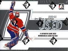 2013-14 ITG In the Game Used Hockey Hobby Box