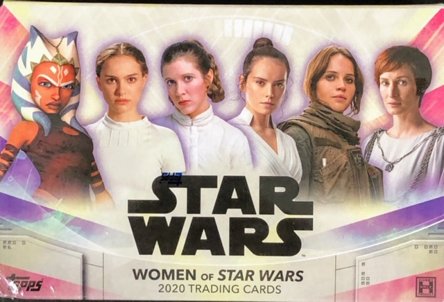 2020 Topps Women of Star Wars Trading Cards Box