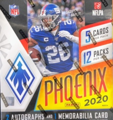2020 Panini Phoenix NFL Football Hobby Box