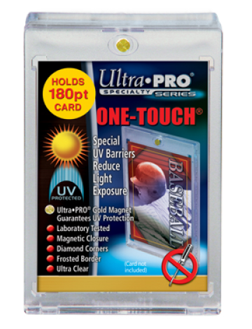 Ultra Pro 180pt Magnetic Closure One-Touch Card Holder