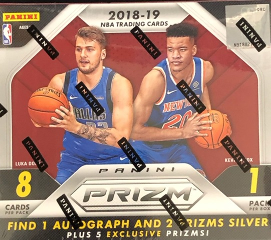 2018-19 Panini Prizm Choice NBA Basketball Box