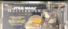 2020 Topps Star Wars Masterwork Trading Cards Hobby Box