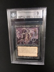 Chains of Mephistopheles BGS 9 MINT Legends MTG Magic Graded Card