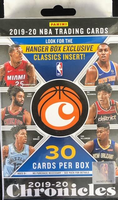 2019-20 Panini Chronicles NBA Basketball Hanger Box