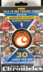 2019-20 Panini Chronicles NBA Basketball Hanger Box