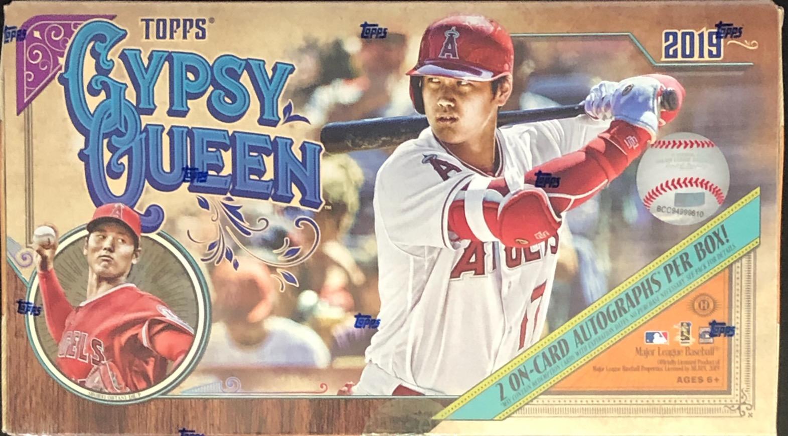 2019 Topps Gypsy Queen MLB Baseball Hobby Box