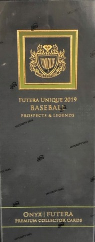 2019 Futera Unique Baseball prospects & Legends Hobby Box