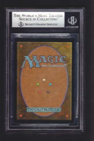 Treachery FOIL BGS 9 MINT Urzas Destiny MTG Magic Graded Card