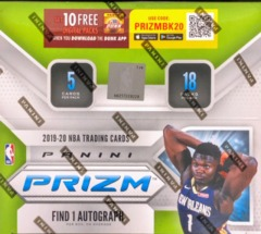 2019-20 Panini Prizm NBA Basketball Fast Break Box