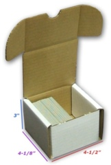 200 Count Cardboard Storage Box - White