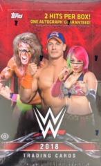 2018 Topps WWE Wrestling Hobby Box