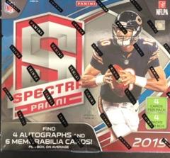 2019 Panini Spectra NFL Football Hobby Box
