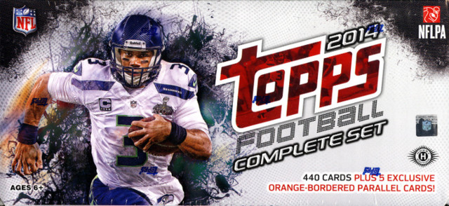 2014 Topps NFL Football Complete Factory Set - Hobby Edition
