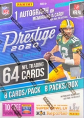 2020 Panini Prestige NFL Football Blaster Box