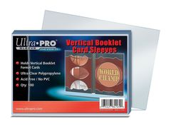 Vertical Booklet Card Sleeves (100ct.)