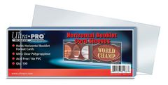 Horizontal Booklet Card Sleeves (100ct.)