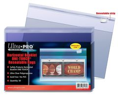 Horizontal Booklet One-Touch Resealable Bags (50ct.)