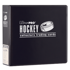 Ultra Pro Collectors Hockey 3-Ring Binder 3 D-Ring Black