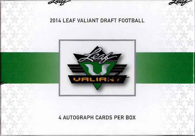 2014 Leaf Valiant Football Hobby Box