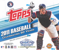 2011 Topps Series 2 MLB Baseball Jumbo Box