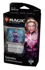 Magic 2019 (M19) Core Set Planeswalker Deck (Intro Pack): Liliana, the Necromancer