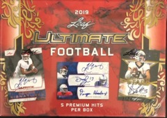 2019 Leaf Ultimate Draft Football Box