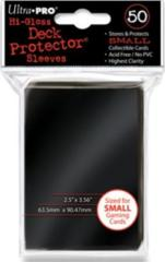 Ultra Pro 60ct Yugioh Sized Sleeves - Black