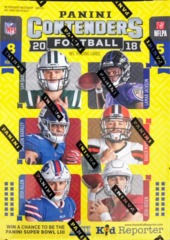 2018 Panini Contenders NFL Football Blaster Box