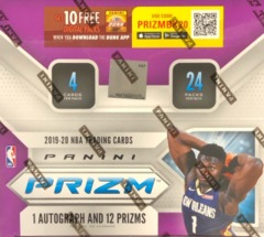 2019-20 Panini Prizm NBA Basketball Retail Box