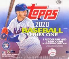 2020 Topps MLB Baseball Series 1 Jumbo Box
