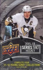 2011-12 Upper Deck Series 2 NHL Hockey Hobby Box