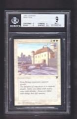 Moat BGS 9 MINT - Legends MTG Magic Graded Card