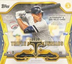 2020 Topps Triple Threads MLB Baseball Hobby Box