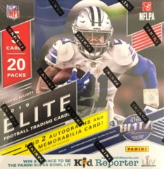 2019 Panini Donruss Elite NFL Football Hobby Box