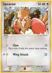 Spearow - 81/112 - Common - Reverse Holo