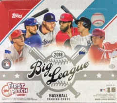 2018 Topps Big League MLB Baseball Hobby Box