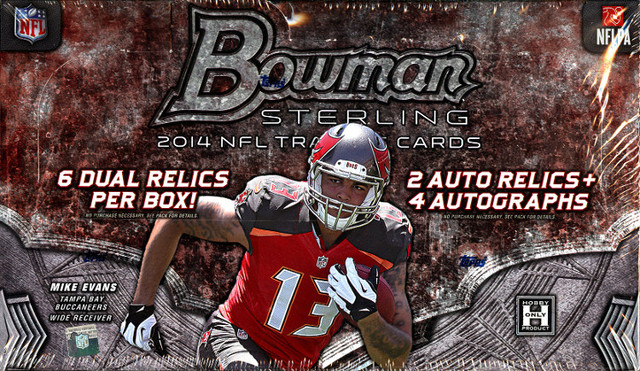 2014 Bowman Sterling NFL Football Hobby Box