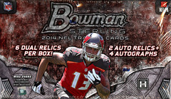 2014 Bowman Sterling NFL Football Hobby Box
