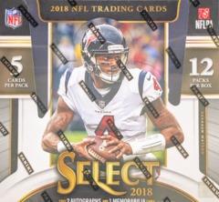2018 Panini Select NFL Football Hobby Box