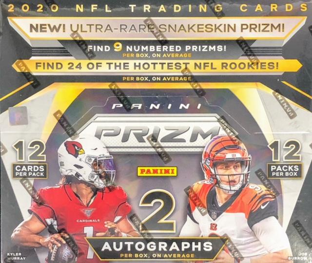 2020 Panini Prizm NFL Football Hobby Box