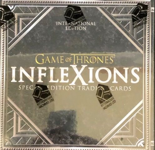 2019 Rittenhouse Game of Thrones Inflexions Special Edition Trading Cards Box - International Edition