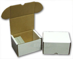 300 Count Cardboard Storage Box - White
