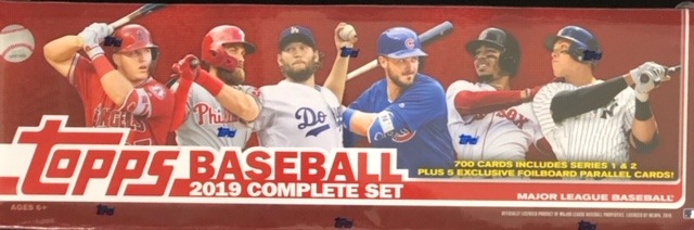 2019 Topps MLB Baseball Factory Sealed Complete Set - Hobby Edition