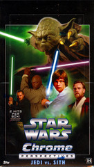 Topps Star Wars Chrome Perspectives Jedi vs. Sith Trading Cards Hobby Box